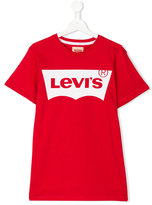 Levi's Kids - logo print T-shirt - kids - Cotton - 14 yrs