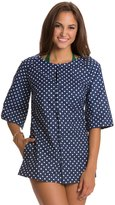 Girl Howdy Girlhowdy Sandy Dots Button Front Cover Up 8120072