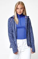 Roxy Harmony Mock Neck Zip-Up Fleece Jacket