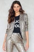 Nasty Gal Dancing in the Street Sequin Blazer
