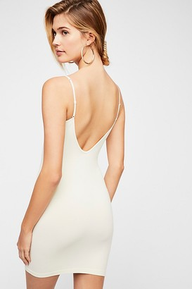 Free People Seamless Low Back Mini Slip by Intimately at