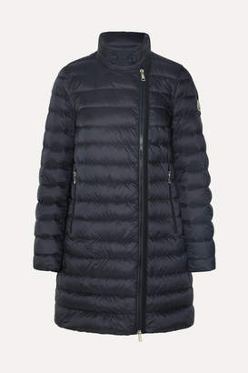Moncler Quilted Shell Down Jacket - Navy
