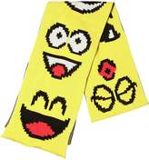 Jeremy Scott Vintage Emoticon Cotton Knit Scarf