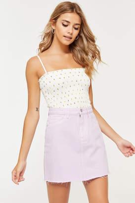 Ardene Lottie Moss Denim Mini Skirt