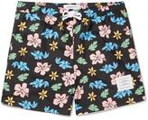 Thom Browne Mid-Length Floral-Print Swim Shorts