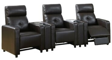Thumbnail for your product : Winston Porter Home Theater Sofa