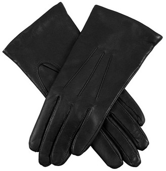 Dents Womens Emma Classic Hairsheep Leather Gloves - Black - Black - Small-Medium