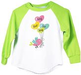 Lime 'Sing Your Own Song' Raglan Tee - Infant Toddler & Girls