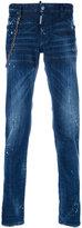 DSQUARED2 regular fit jeans - men - Cotton/Spandex/Elastane - 44