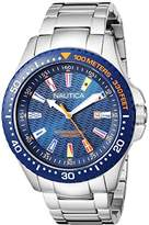 Nautica Men's 'JONES BEACH COLLECTION' Quartz Resin and Stainless Steel Casual Watch