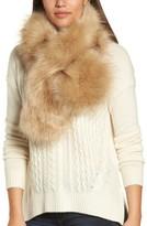 Halogen Women's Faux Fur Stole