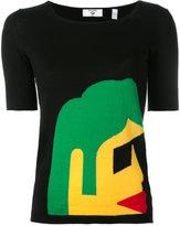 Rossignol Kiss Kiss knitted T-shirt - women - Cotton - XS