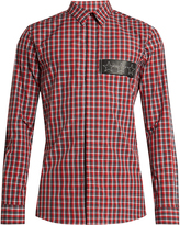 Givenchy Checked cotton shirt