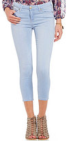 Celebrity Pink Mid-Rise Stretch Cropped Jeans