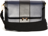 Marni Trunk medium striped leather shoulder bag