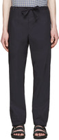 Stephan Schneider Navy Cotton Pales Trousers