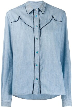 Golden Goose Contrast Seam Shirt