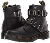 Dr. Martens Kid's Collection 1460 Quynn (Little Kid/Big Kid) (Black) Kid's Shoes