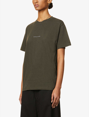 Riley Studio Human Kind organic cotton and recycled polyester-blend T-shirt