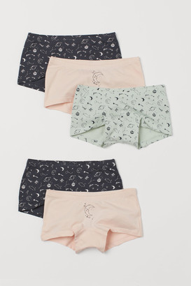 H&M 5-pack Cotton Boxer Briefs - Green