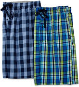Hanes 2-pk. Woven Pajama Shorts-Big & Tall