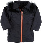 Andy & Evan Quilted Convertible Jacket (Toddler/Kid) - Navy-3T