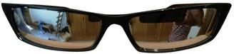 Acne Studios Black Plastic Sunglasses