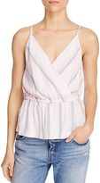 Free People Psychedelic Summer Faux-Wrap Top