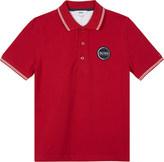 BOSS Logo cotton polo shirt 4-16 years