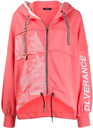 Diesel Zipped Hooded Jacket