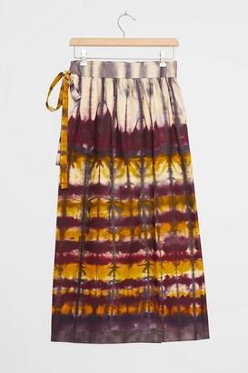 Tiny Heidi Tie-Dye Wrap Maxi Skirt