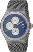 Skagen Men's Jannik SKW6154 Silver Stainless-Steel Quartz Watch