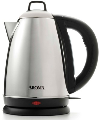 Aroma 1.5-Liter Stainless Steel Electric Kettle
