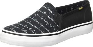 Keds womens DOUBLE DECKER EMPOWER SCRIPT Fashion Sneakers