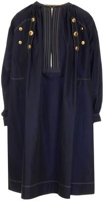 Givenchy Button Detail Midi Dress