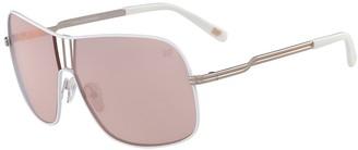 Diane von Furstenberg 65mm Lisa Shield Sunglasses