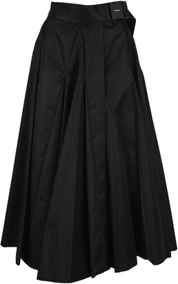 Prada Re-Nylon Gabardine Midi Skirt