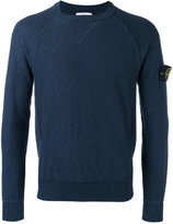 Stone Island raglan sleeve sweatshirt - men - Cotton/Polyamide - L