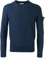 Stone Island raglan sleeve sweatshirt