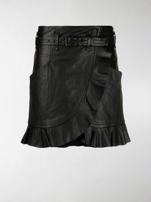 Etoile Isabel Marant Ruffle Wrap Skirt