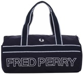 Fred Perry Classic Sport Canvas Barrel Bag Navy