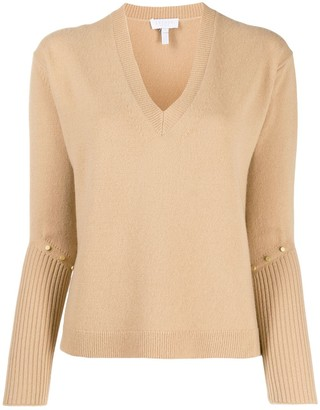Escada Sport studded knit jumper