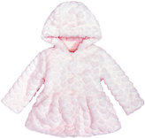First Impressions Faux-Fur Hearts Jacket, Baby Girls (0-24 months), Created for Macy's