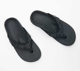Spenco Orthotic Thong Sandals - Yumi Boheme