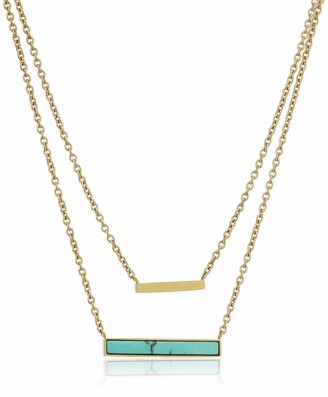Fossil Modern Meadows Turquoise Necklace