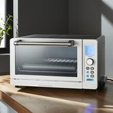 Crate & Barrel Cuisinart ® Deluxe White/Stainless Steel Convection Toaster Oven Broiler