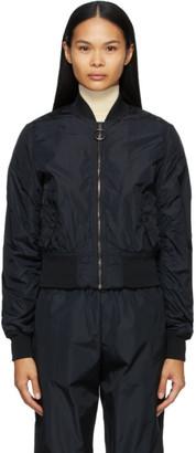 Off-White Black Nylon Bomber Jacket