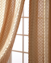 "Austin Horn Collection Alias Diamond Curtain Panels, 84"""