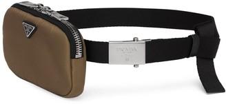 Prada Pouch Adjustable Fabric Belt