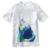 Classic Boys Graphic Tee-Washed Iris